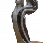 escultura Alfiler de Oro MS XXI - copia x