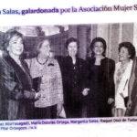 Margarita Salas recorte prensa