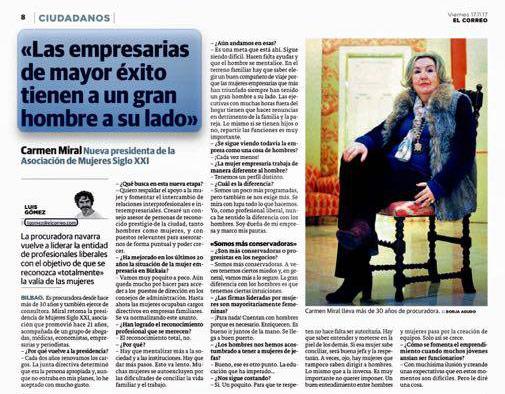 entrevista Presidenta
